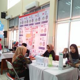 Hari Pertama Donor Darah, 460 Orang Terdaftar Menjadi Pendonor