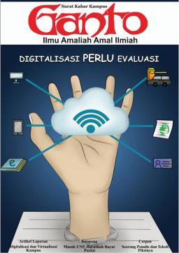 Taboid Ganto Edisi 211: Digitalisasi Perlu Evaluasi