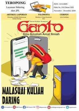 Tabloid Ganto Edisi 216- Malasuai Kuliah Daring