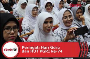 Seminar Nasional Hari Guru dan HUT PGRI ke-74