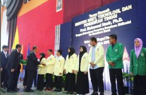 Temu Ramah Menristekdikti dengan Mahasiswa Penerima Bidikmisi se-Sumatra Barat